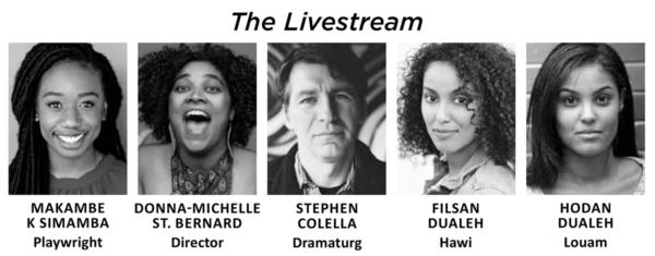 The Livestream crew