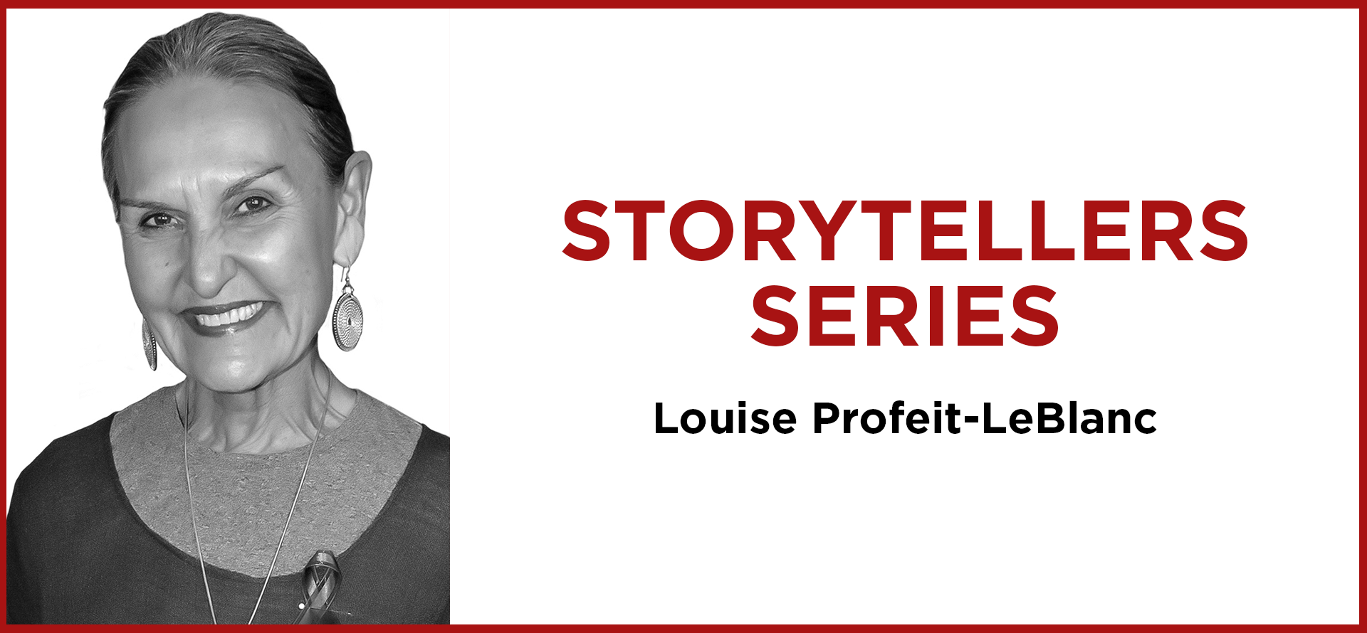 storytellers Louise Profeit-LeBlanc