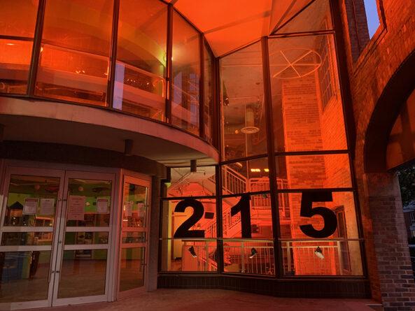 215 theatre installation